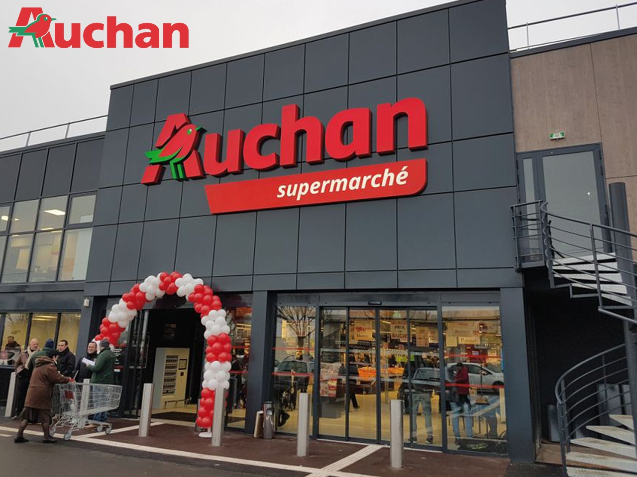 Auchan Retail France cède 21 sites