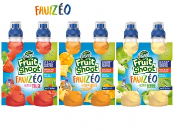 Fruit Shoot se décline avec FRUIZÉO