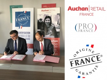 Auchan Retail France s'engage aux côtés de Pro France