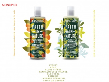Monoprix lance en France Faith In Nature