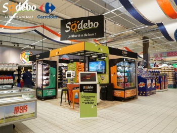 Sodebo présente son pop-up store !