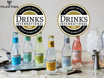 Fever-Tree s'impose dans le classement Drinks International