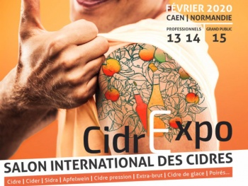 Cidrexpo, le 1er salon international des cidres arrive en France !