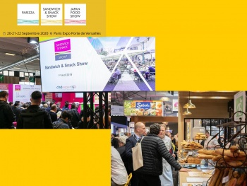 Les salons Sandwich & Snack Show, Parizza et Japan Food Show reportés en septembre !