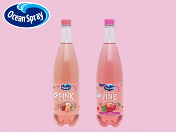 Ocean Spray lance Ocean Spray® Fines Bulles PINK Cranberry, l'innovation rose, pétillante et engagée !